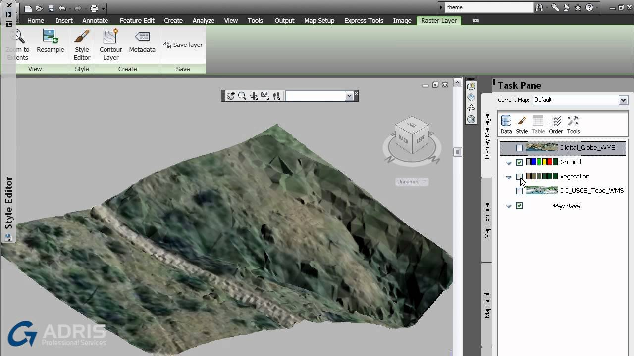 Autodesk MAP 3d